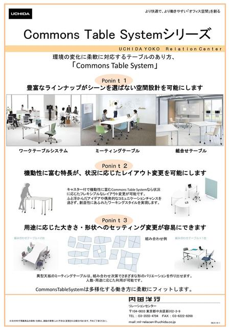 Commons Table Systemシリーズ
