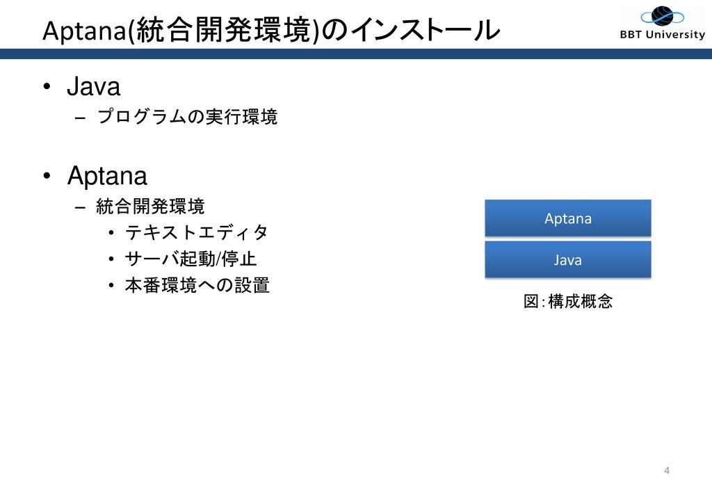Aptana(統合開発環境)のインストール