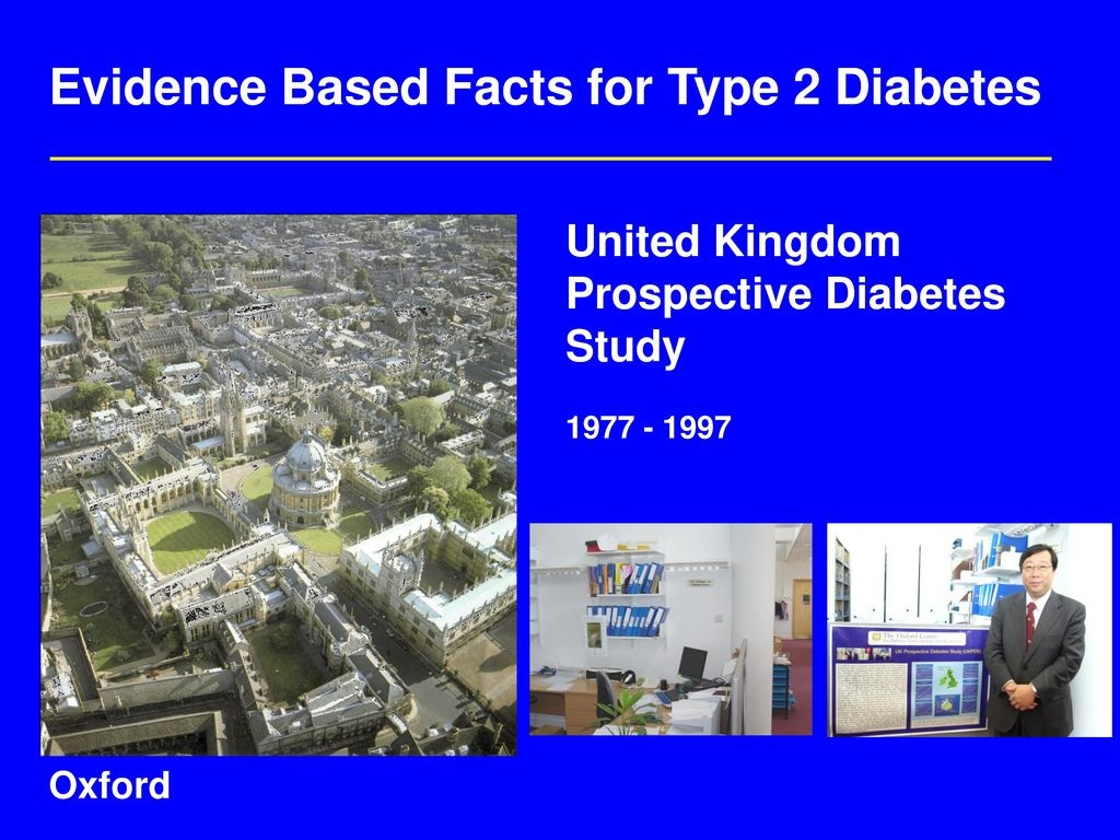 Evidence Based Facts for Type 2 Diabetes