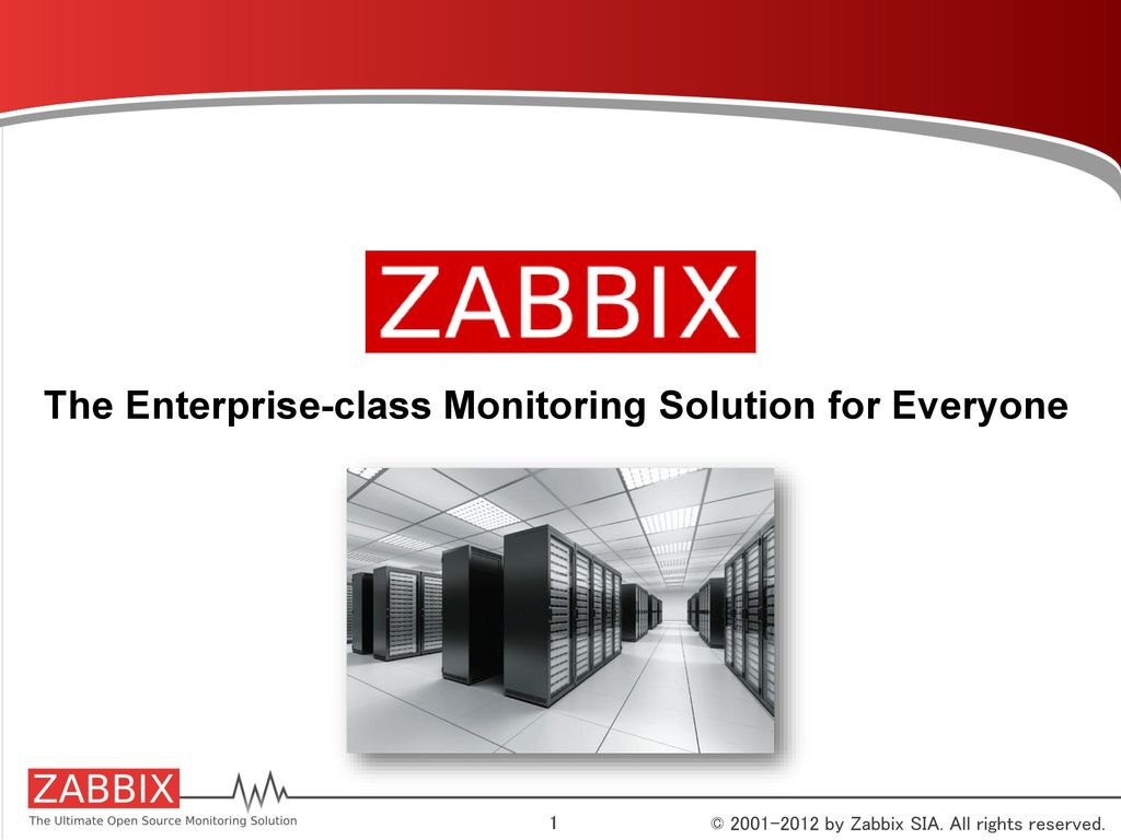 The Enterprise-class Monitoring Solution for Everyone