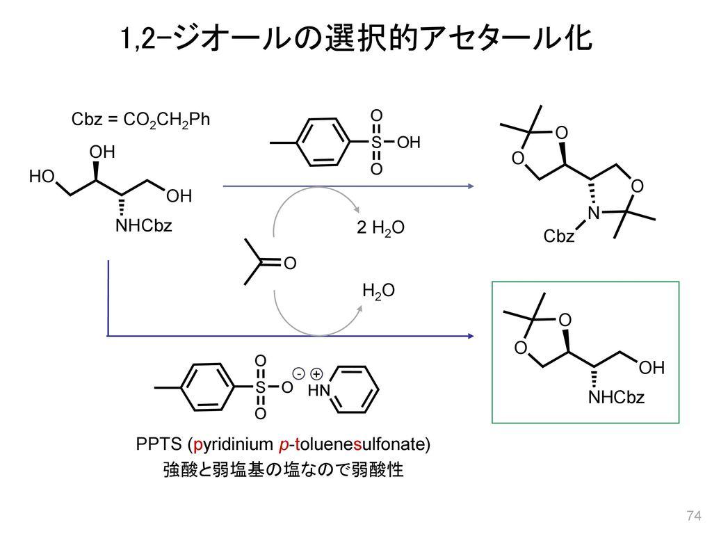 PPTS (pyridinium p-toluenesulfonate)