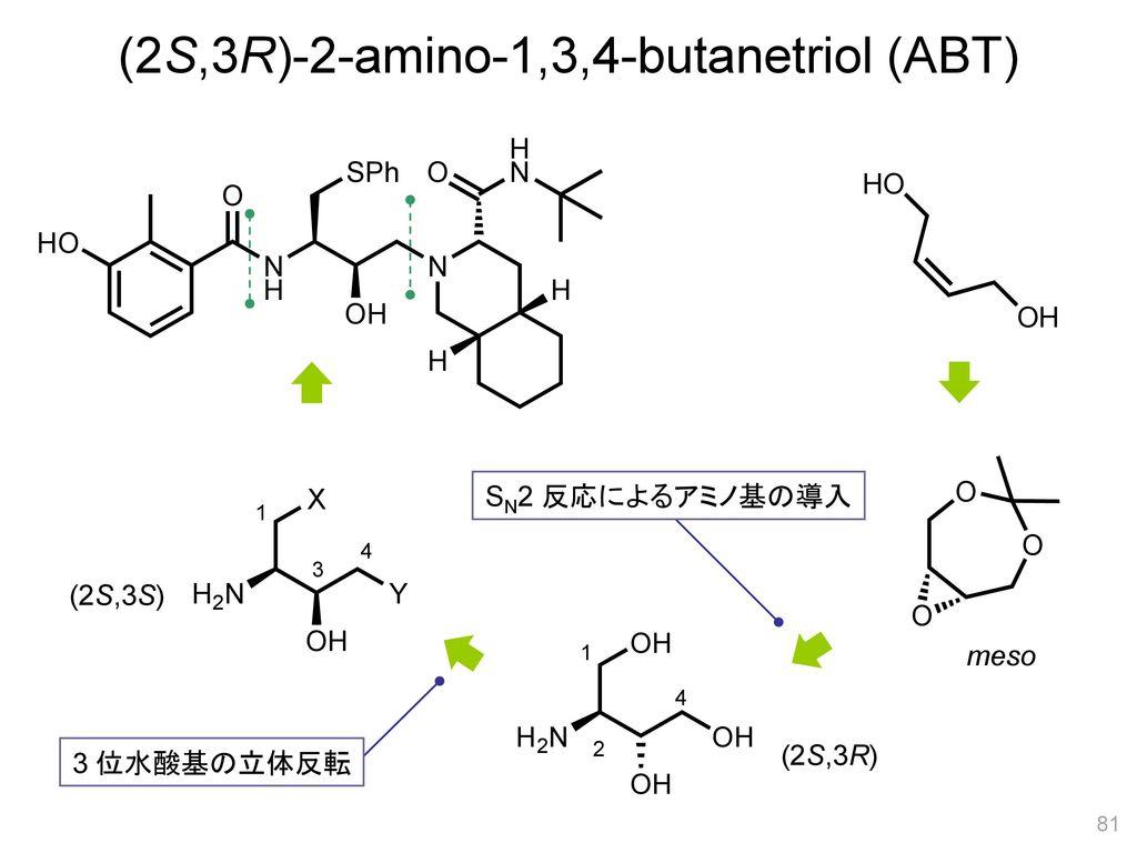 (2S,3R)-2-amino-1,3,4-butanetriol (ABT)