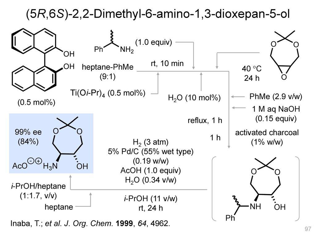 (5R,6S)-2,2-Dimethyl-6-amino-1,3-dioxepan-5-ol