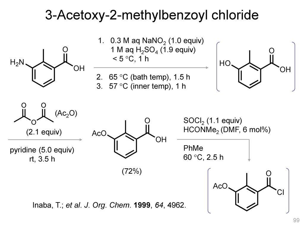 3-Acetoxy-2-methylbenzoyl chloride
