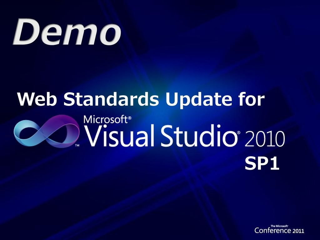 Demo Web Standards Update for SP1