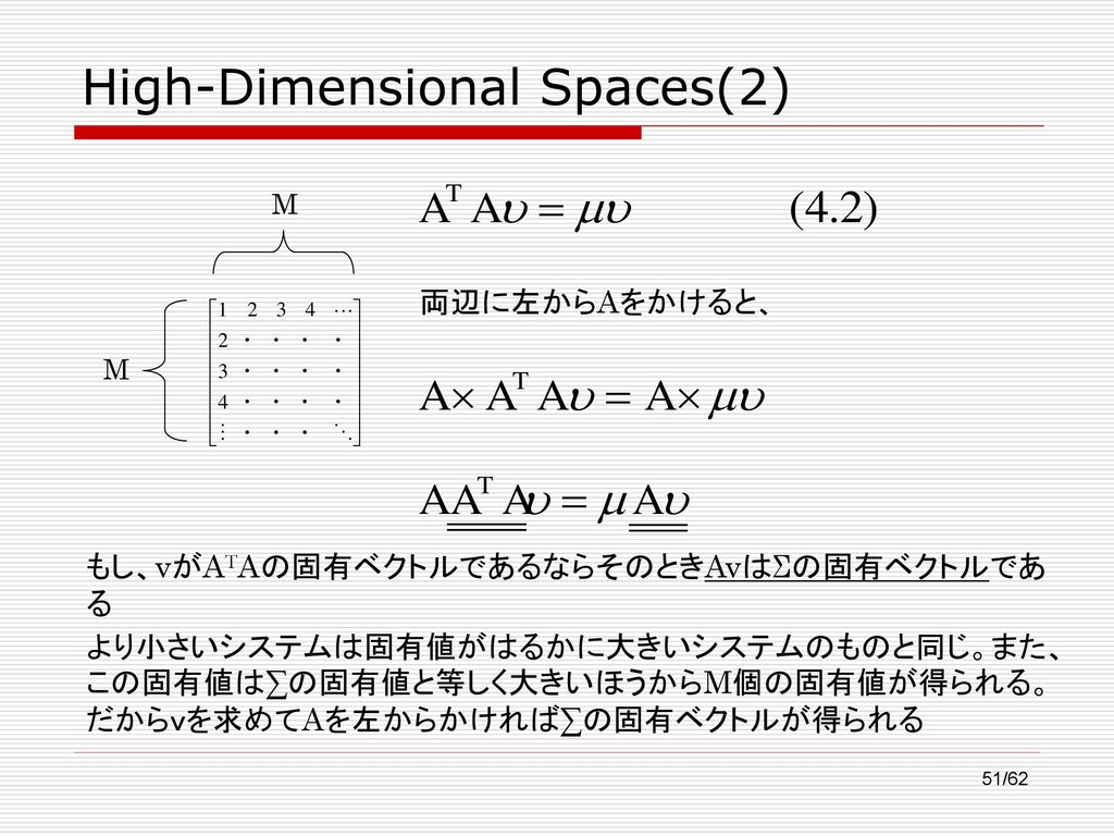 High-Dimensional Spaces(2)