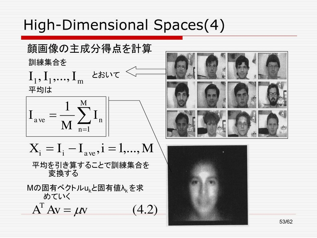 High-Dimensional Spaces(4)