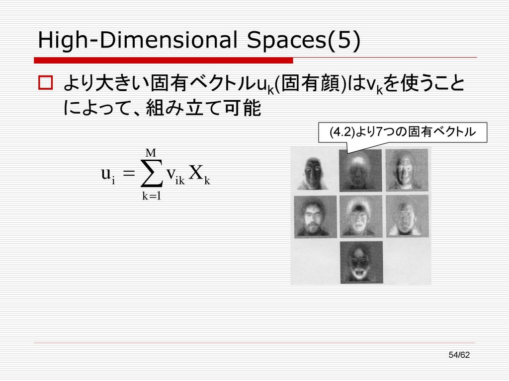High-Dimensional Spaces(5)