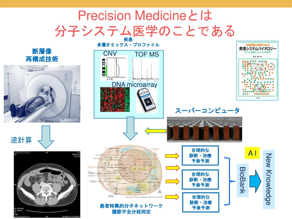 Precision Medicineとは 分子システム医学のことである