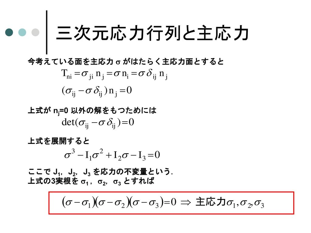 三次元応力の座標変換