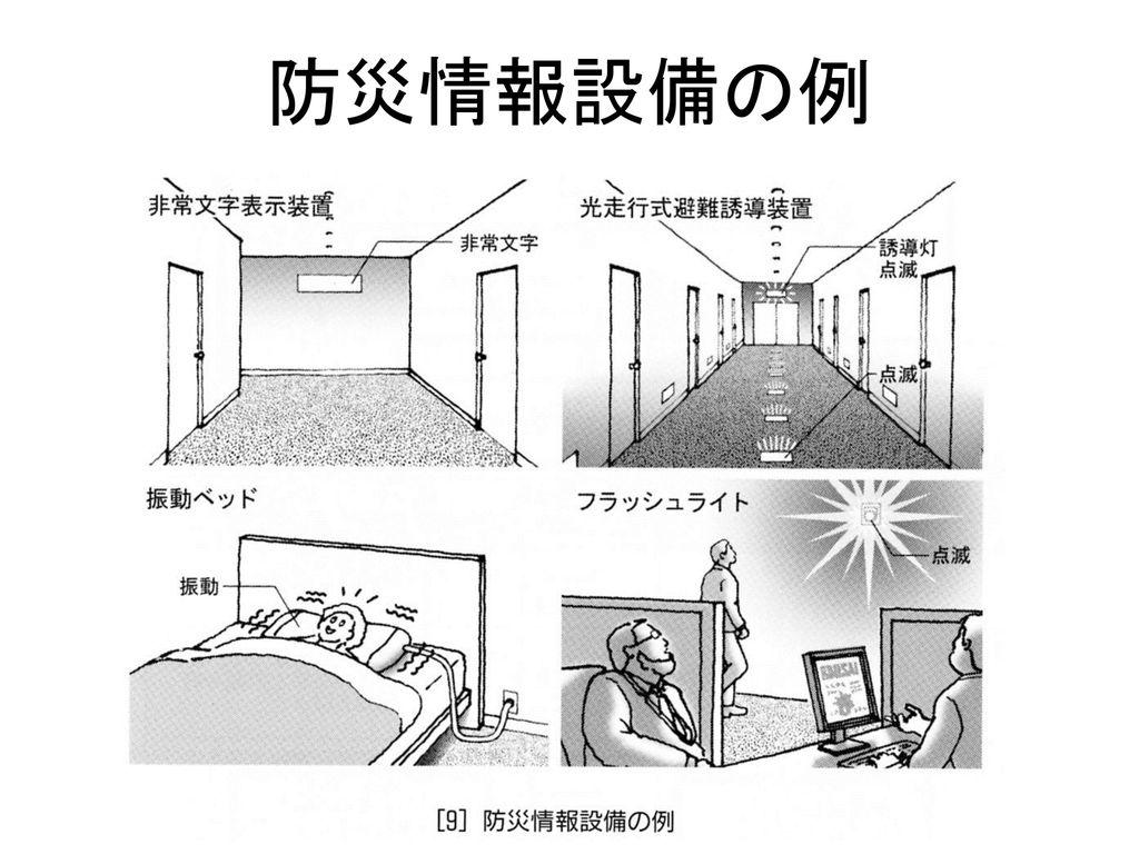 防災情報設備の例