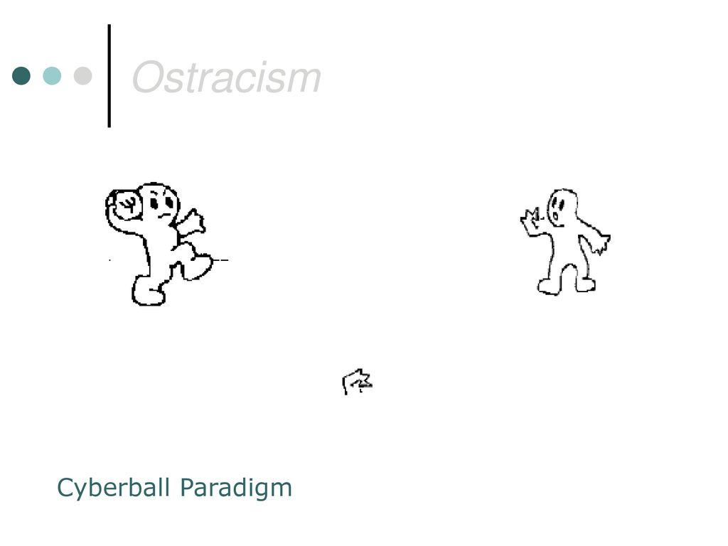 Ostracism Cyberball Paradigm