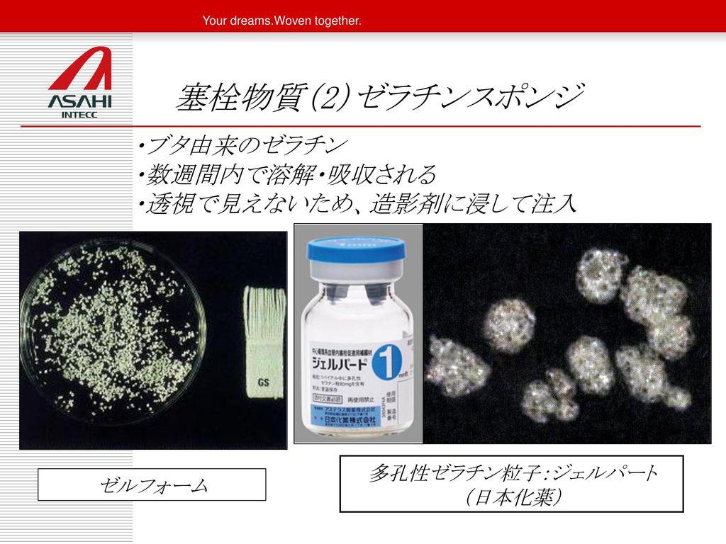 多孔性ゼラチン粒子:ジェルパート (日本化薬)