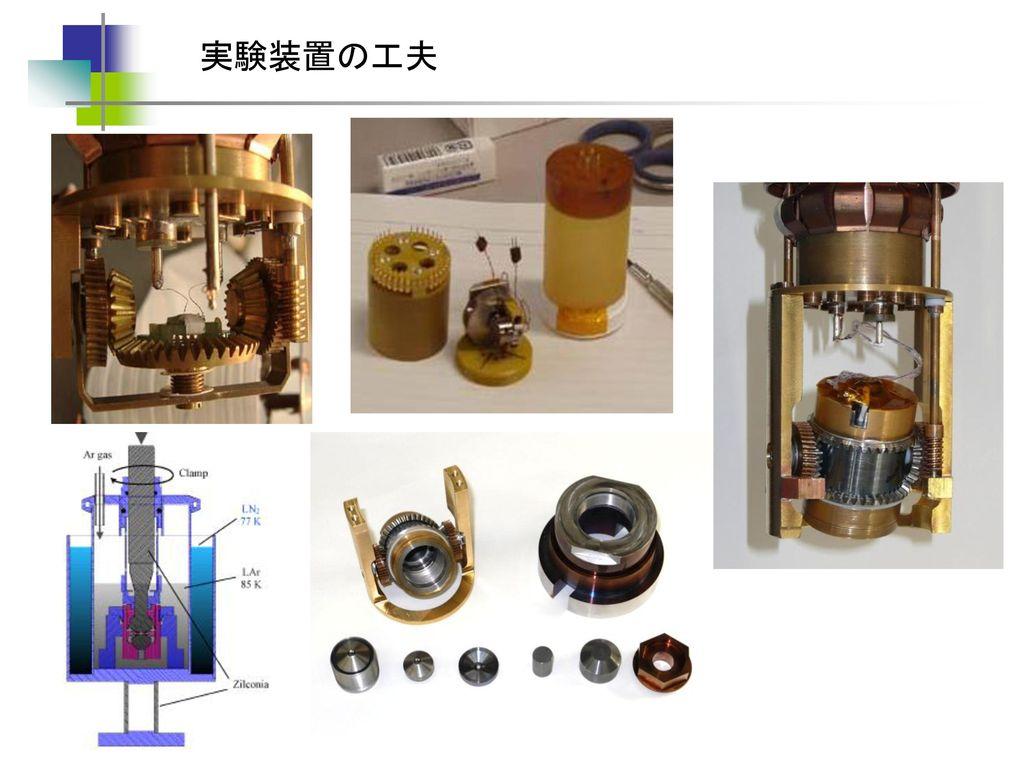 実験装置の工夫