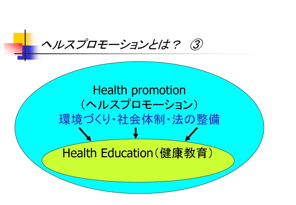 Health Education(健康教育)