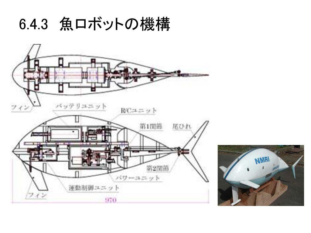 6.4.3 魚ロボットの機構