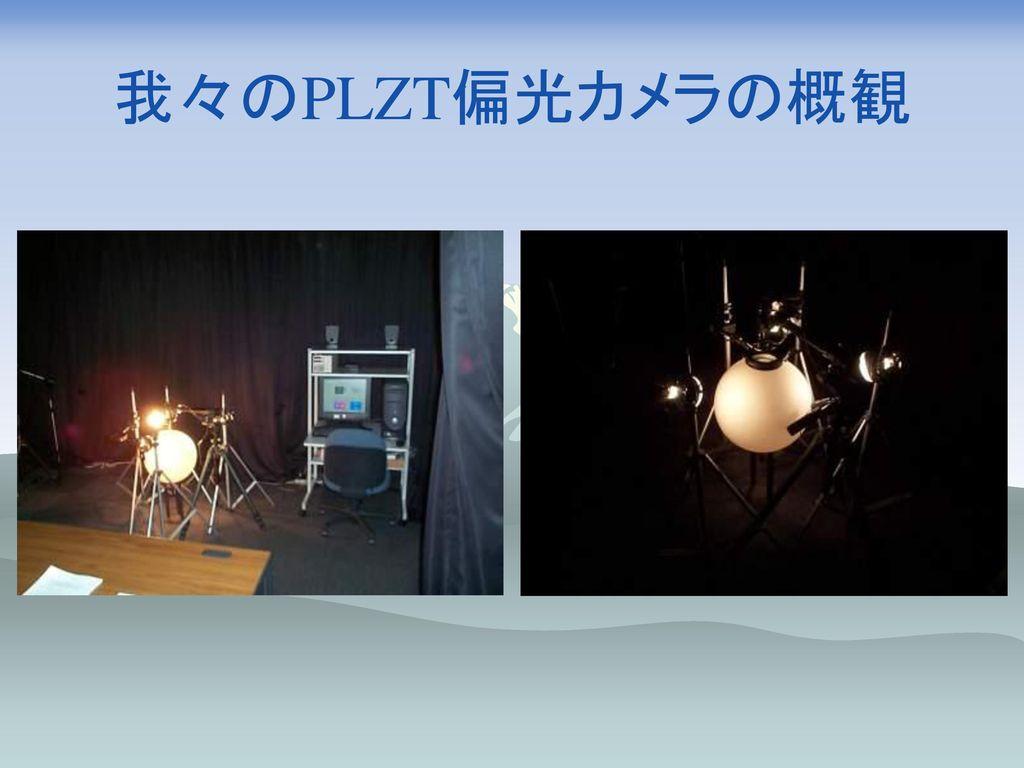 我々のPLZT偏光カメラの概観