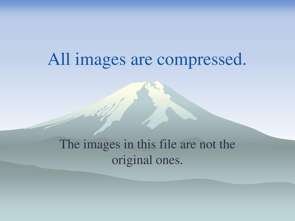 All images are compressed.