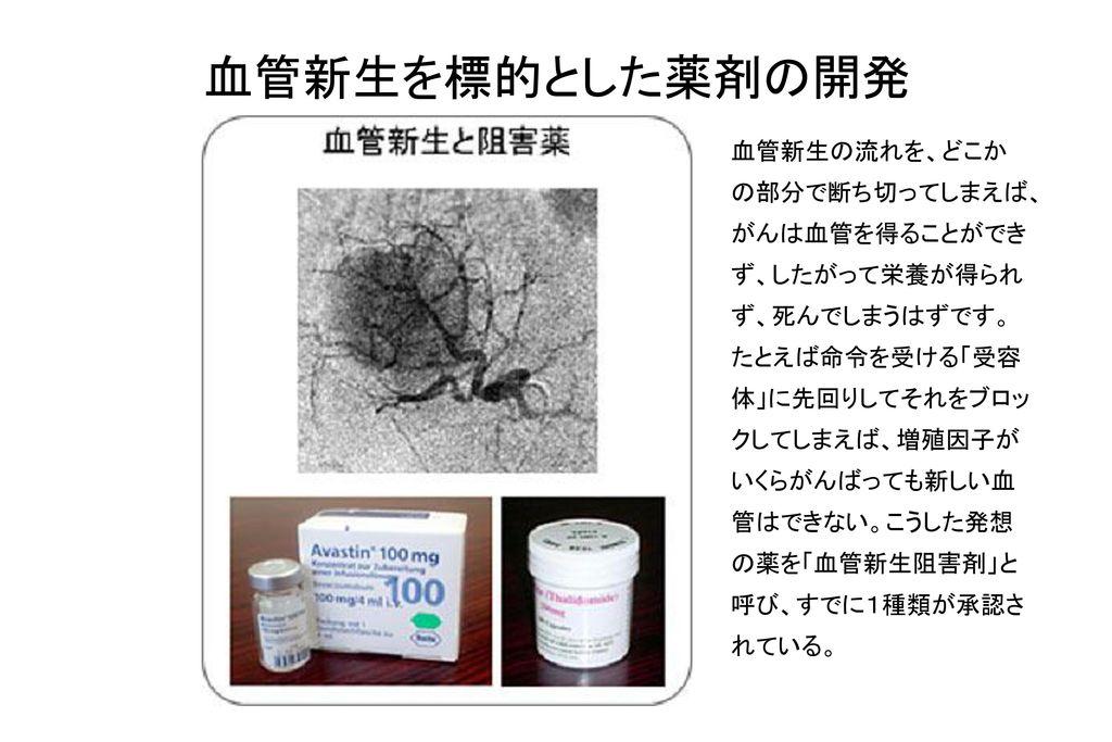 血管新生を標的とした薬剤の開発