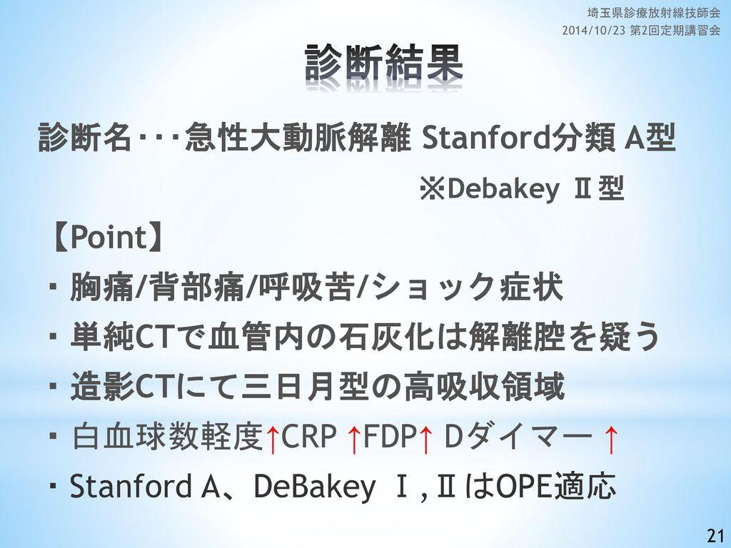 埼玉県診療放射線技師会 2014/10/23 第2回定期講習会 診断結果.