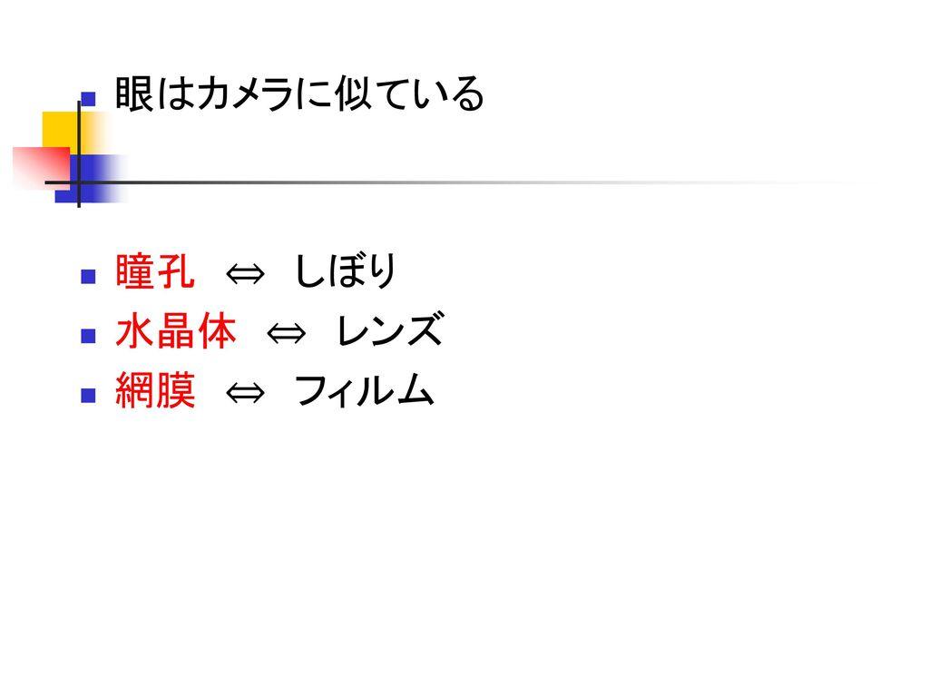 心理学Ⅰ 5月16日 感覚と知覚①.