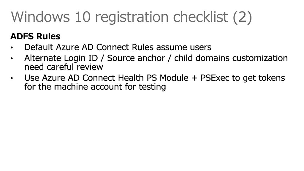 Windows 10 registration checklist (2)