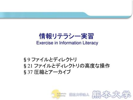 Exercise in Information Literacy