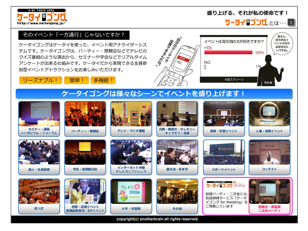 120c51da807d2 イベント・パーティー・セミナーがもっと盛り上がります。 - ppt download