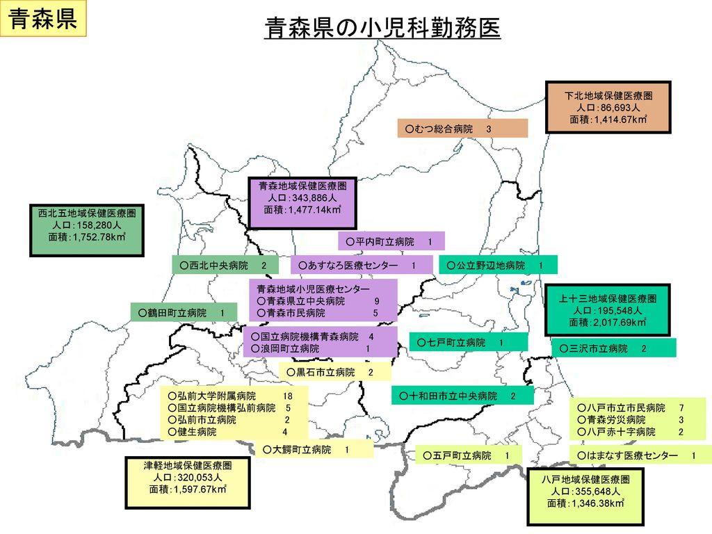 青森県の小児医療提供体制改革の現状と問題点 - ppt download