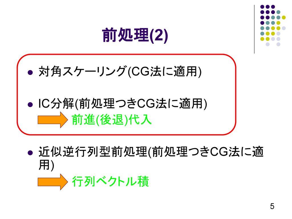 Fill-in LevelつきIC分解による ...