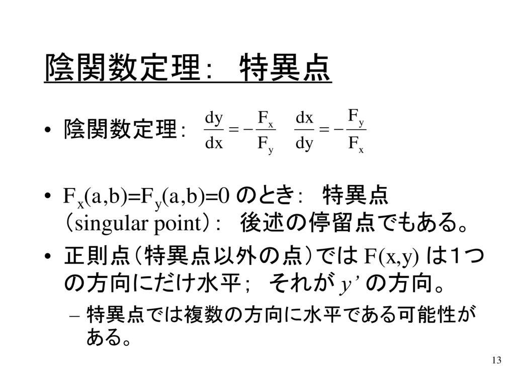第5章: 偏微分の応用(§3~§5) ...