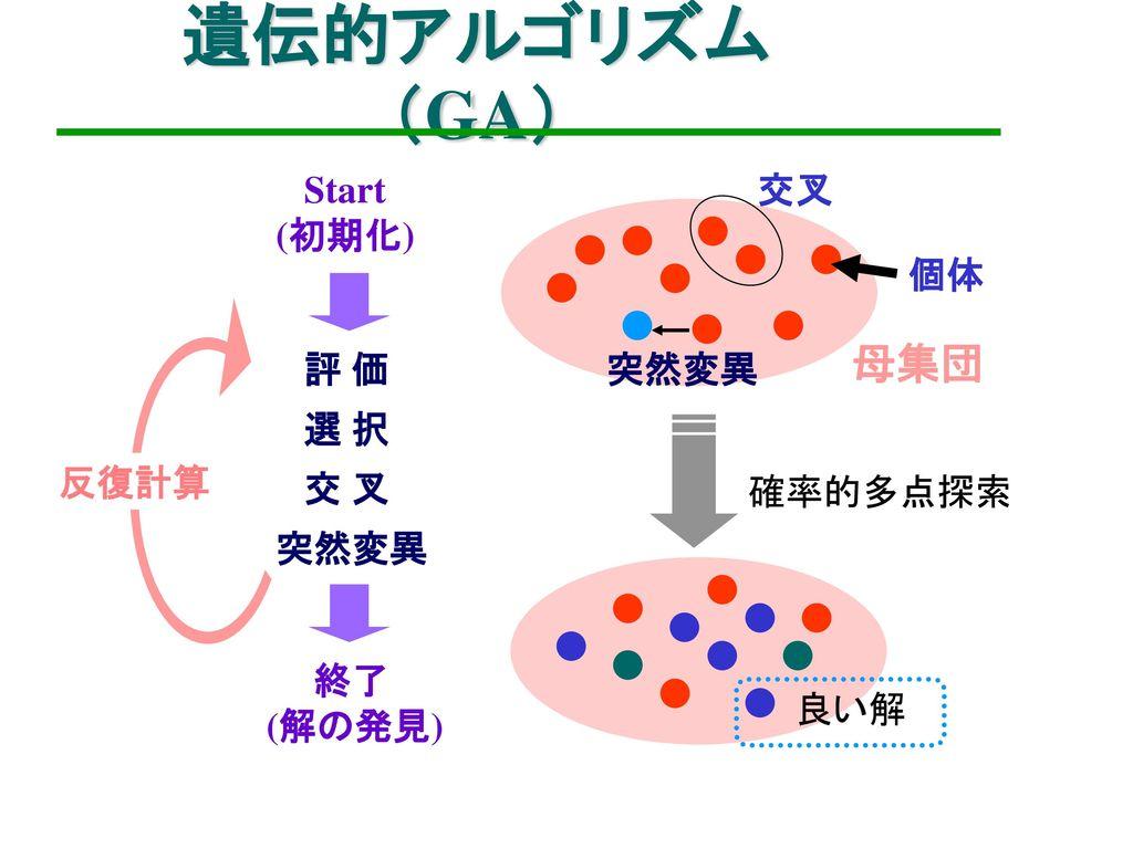 遺伝子 アルゴリズム