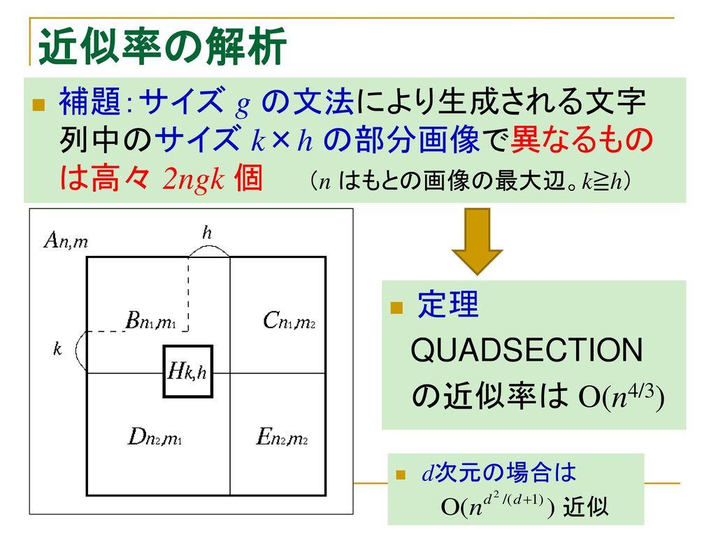 集中講義(九州大学数理学研究院...