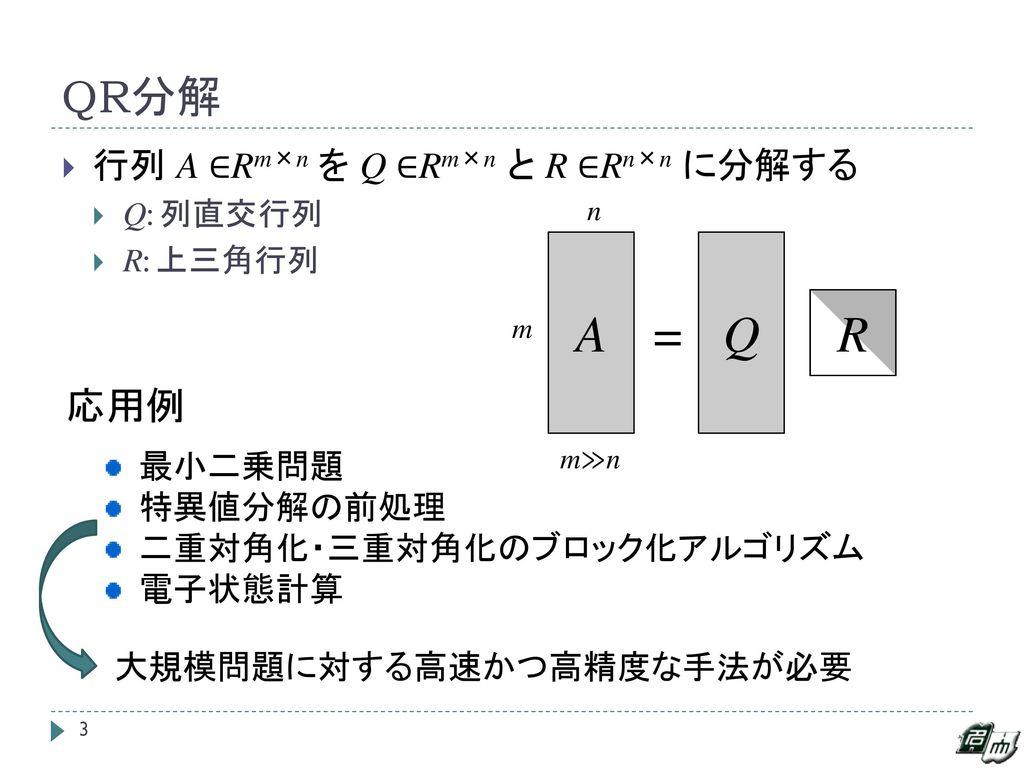 AllReduce アルゴリズムによる Q...