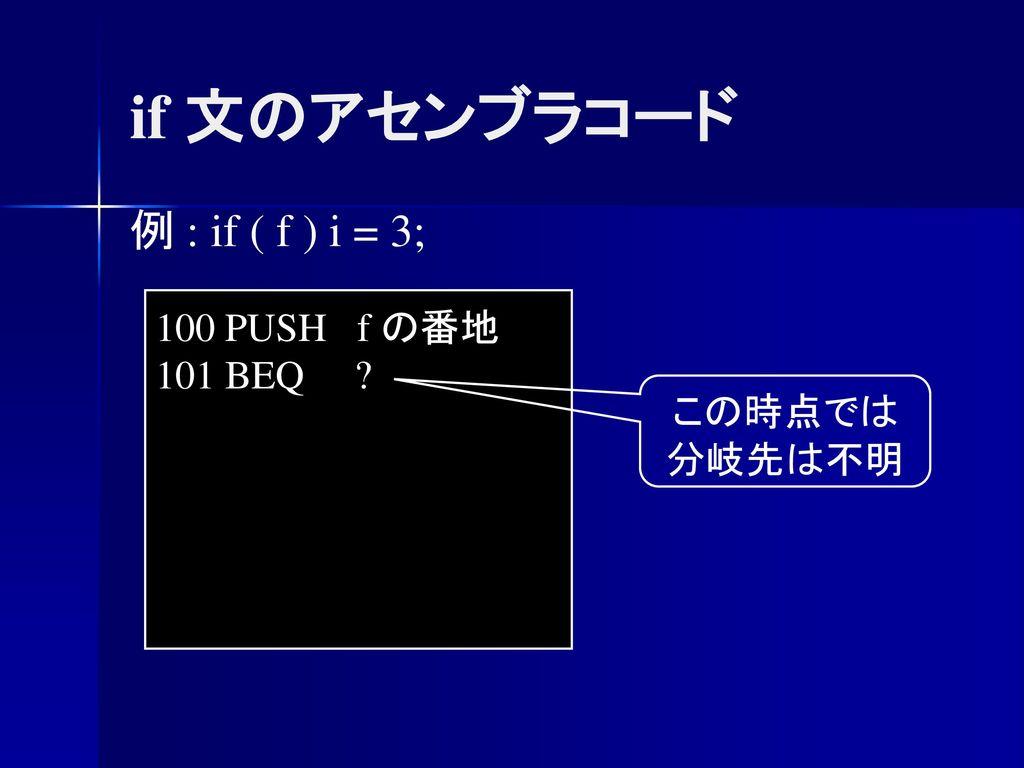 コンパイラ 第9回 コード生成 ― ...