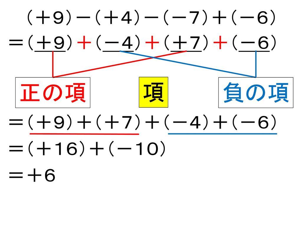本時の目標 正の数負の数の加法と減法の混じった計算のしかた