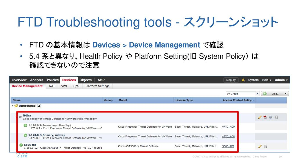 Firepower Threat Defense (FTD) Troubleshooting 入門 - ppt