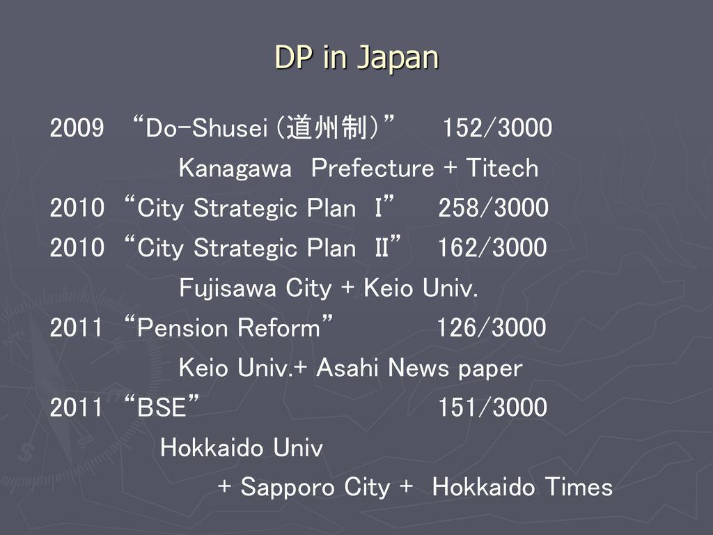 japanese dp