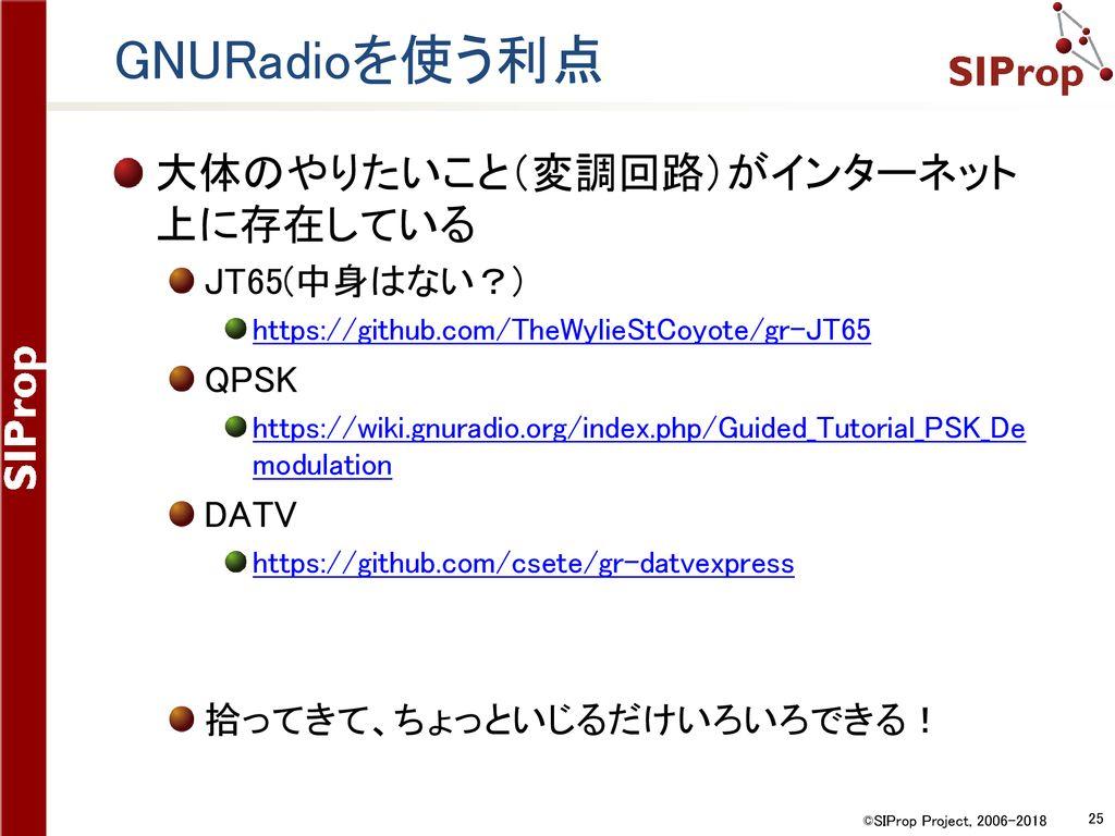 次世代アマチュア衛星受信のスタンダード 「SDR+GNU Radio」環境構築