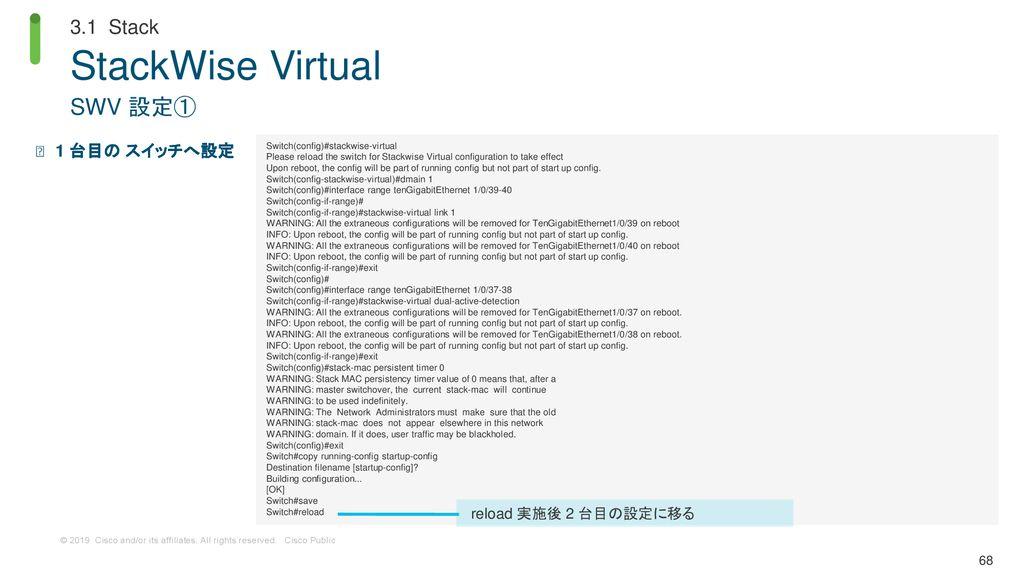 Cisco Catalyst 9000 シリーズ スイッチ 実践ガイド(基本機能編